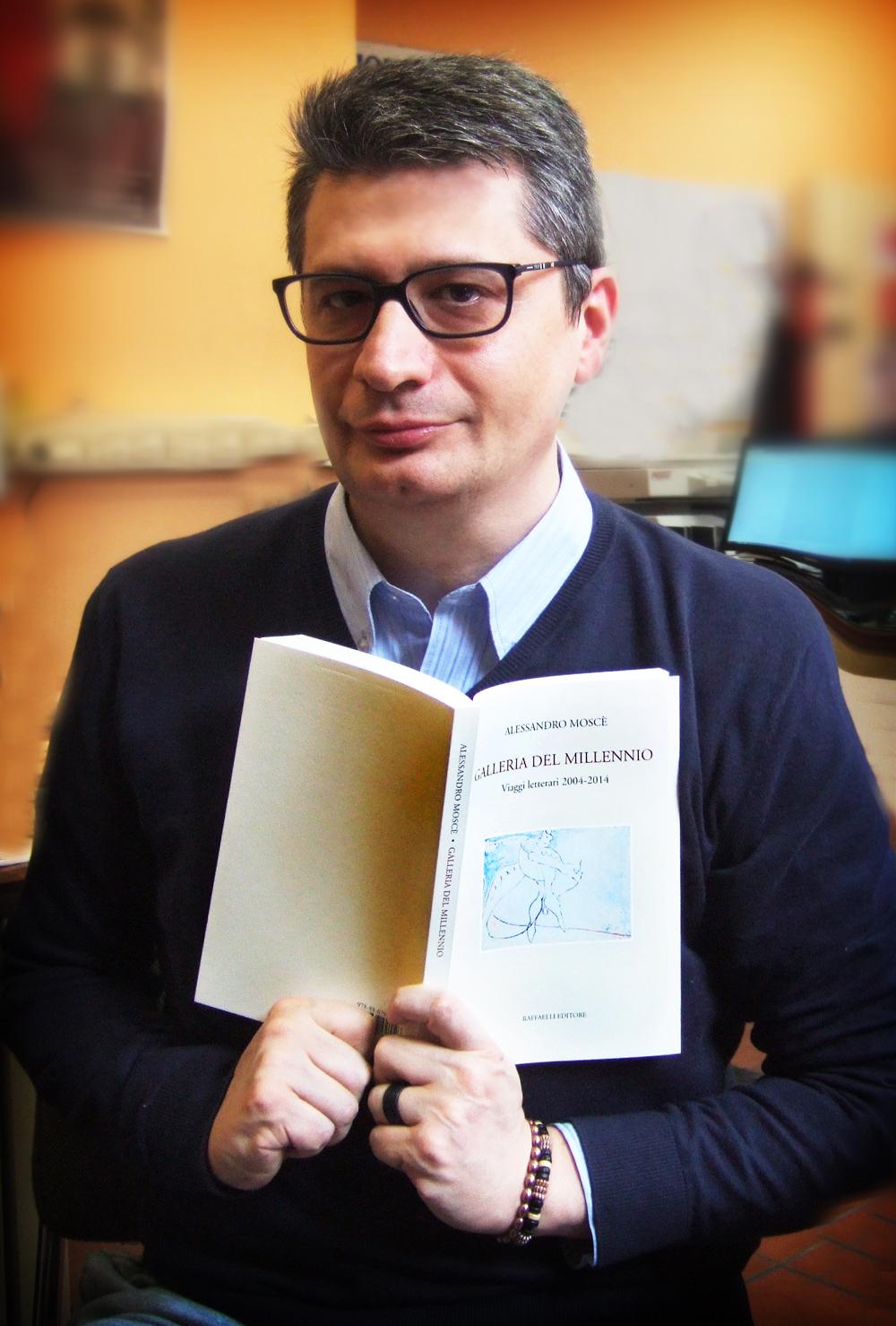 ALESSANDRO MOSCE' NELLE CITTA' E NEI LUOGHI LETTERARI